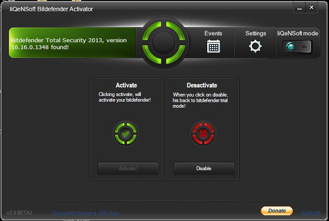 Bitdefender Total Security 2013 Keygen Free Download.